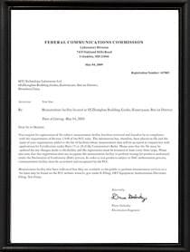 美国FCC资质证书